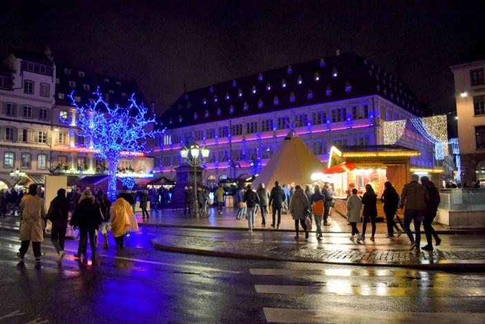 Strasbourg Christmas Market: on place Gutenberg © French Moments