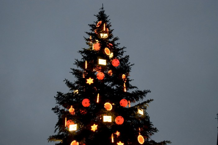 Christmas tree in Strasbourg © French Moments