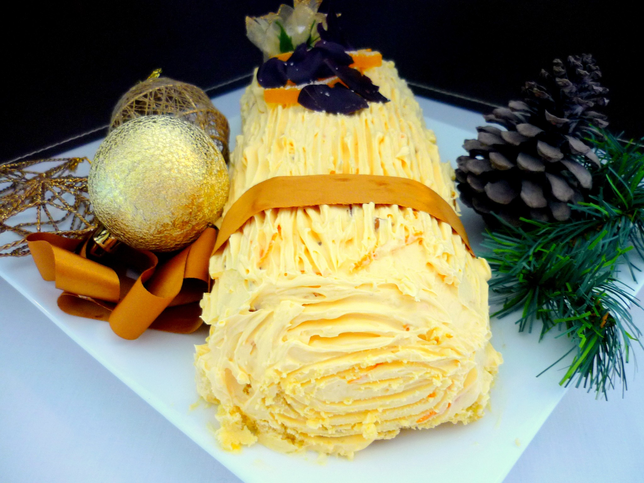 French Christmas Log B 251 Che De No 235 L French Moments