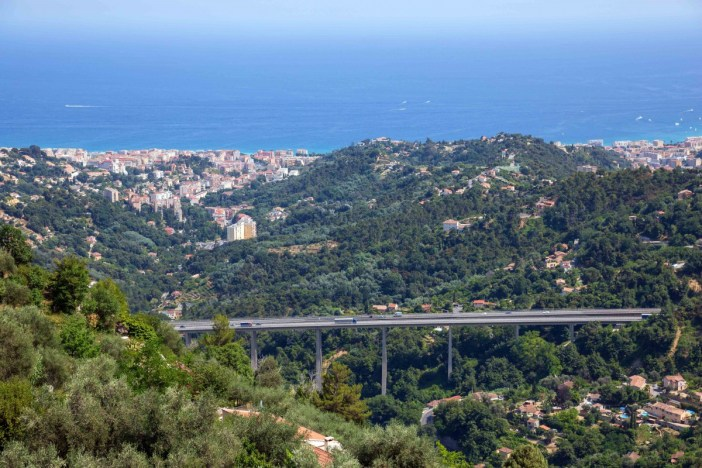 The A8 Motorway near Menton - Stock Photos from Michael R Evans - Shutterstock