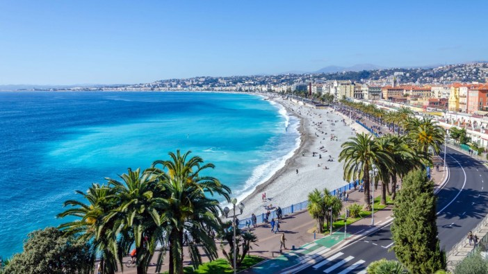 The Seafront in Nice - Stock Photos from Sergii Zinko - Shutterstock