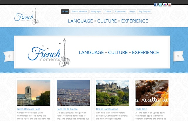 French Moments Homepage © French Moments