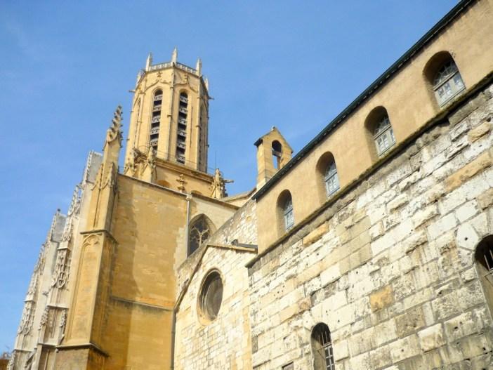 Exterior of St. Sauveur Cathedral, Aix-en-Provence © French Moments