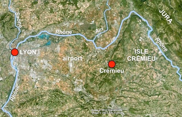 Isle Crémieu Map Website