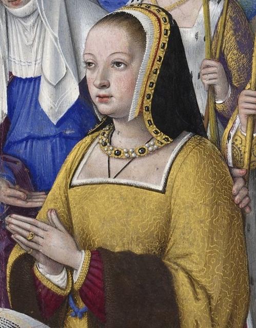 Portrait d'Anne de Bretagne