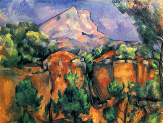Paul Cézanne Painting