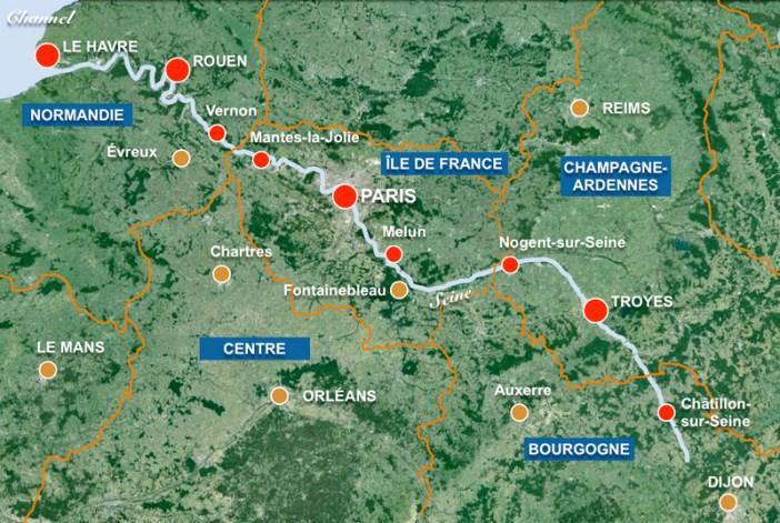 Seine Map