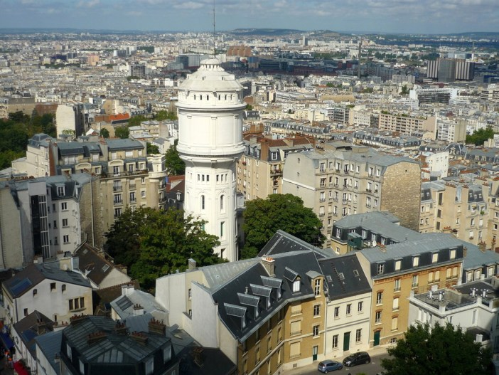 Water Tower of Montmartre © French Moments