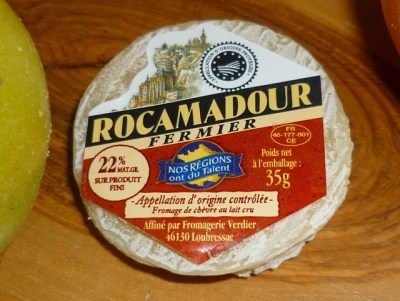 Rocamadour cheese © French Moments