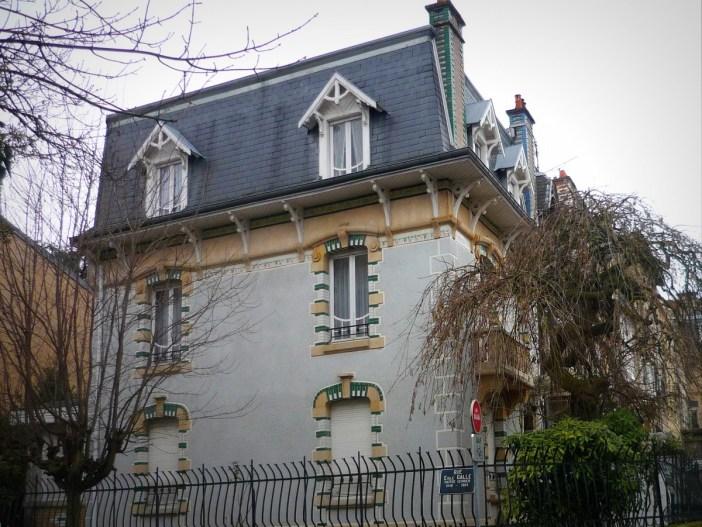 Art Nouveau Buildings in Nancy