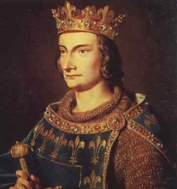 """Philip IV of France, also known as """"Philip the Fair"""" (Philippe le Bel) (public domain)"""