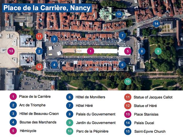 Place de la Carrière Map