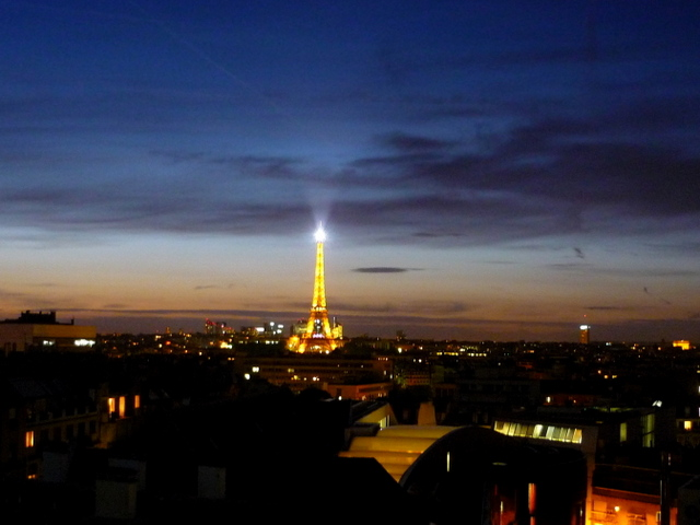 Eiffel Tower by night 01 © French Moments