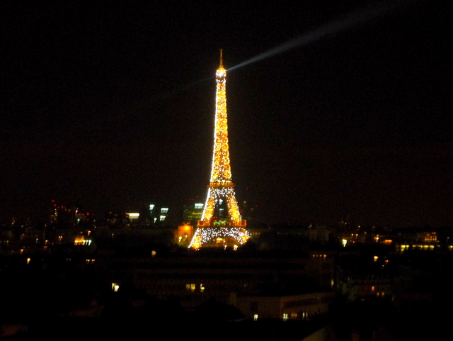 Eiffel Tower by night 02 © French Moments