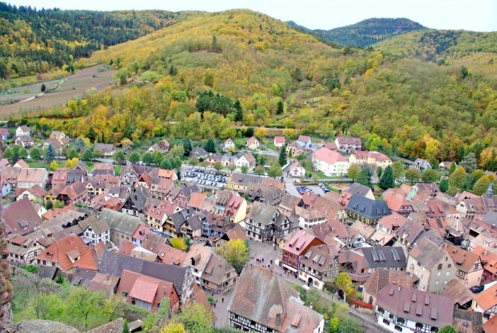 Kaysersberg, Alsace in Autumn © French Moments
