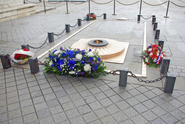 The Tomb of the Unknown Soldier under the Arc de Triomphe, Paris © French Moments