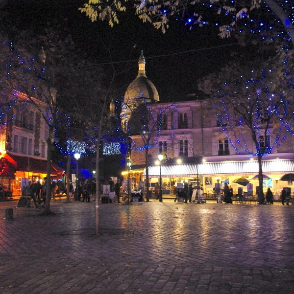 Paris Christmas markets: at Montmartre © French Moments