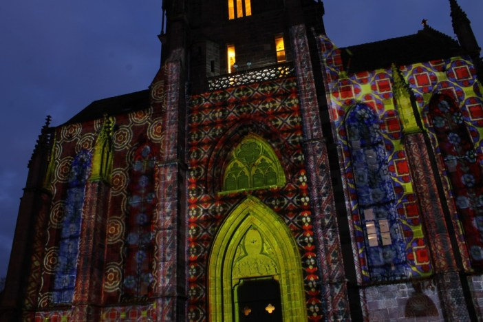 The mapping on the St. Georges church in Sélestat ©SHKT