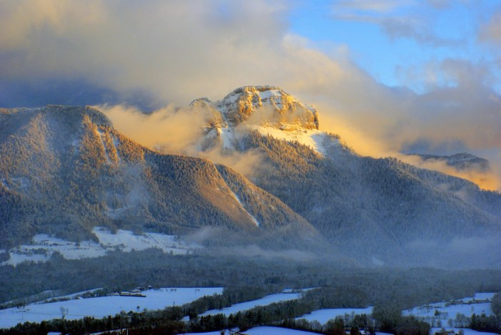 Winter in France (region of Annecy, French Alps) © French Moments