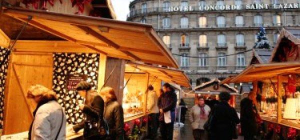 Saint-Lazare Christmas Market © L'Internaute Magazine/C. Debise