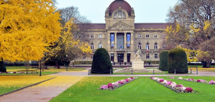 Strasbourg German Imperial District: the Rhine Palace © French Moments