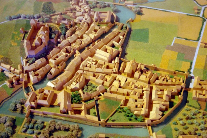 Model of Annecy in the Middle Ages © French Moments