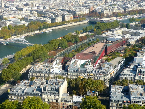 Quai Branly from above © French Moments