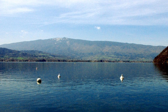 Mount Semnoz from Talloires © French Moments