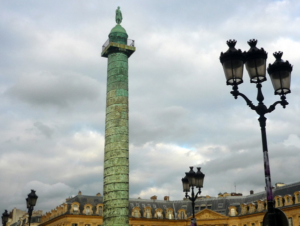 Candelabra in Place Vendome © French Moments