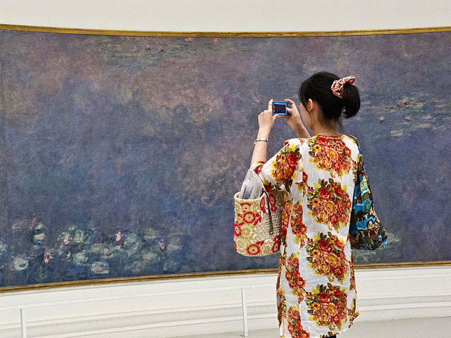 Monet Nympheas at Orangerie © Valfex - licence [CC BY-SA 3