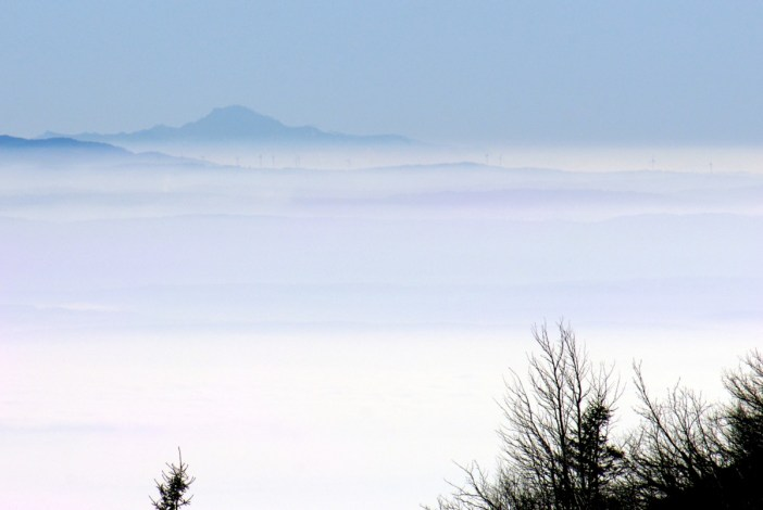 Mont-Blanc from Grand-Ballon (Alsace) © French Moments