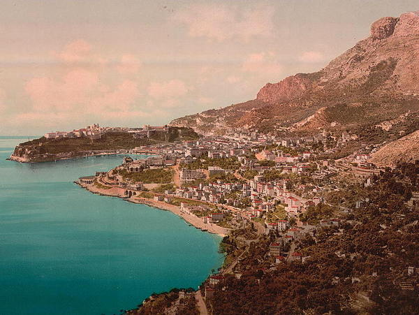 General view of the principality of Monaco