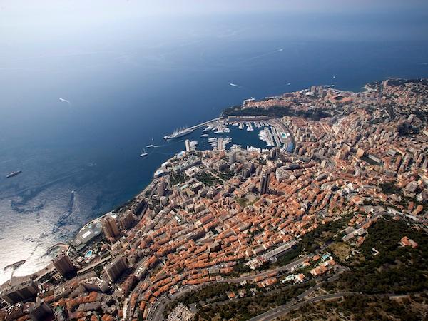 Monaco General View © Monaco Press Centre Photos