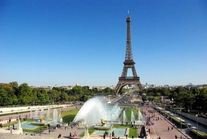 Trocadéro and Eiffel Tower