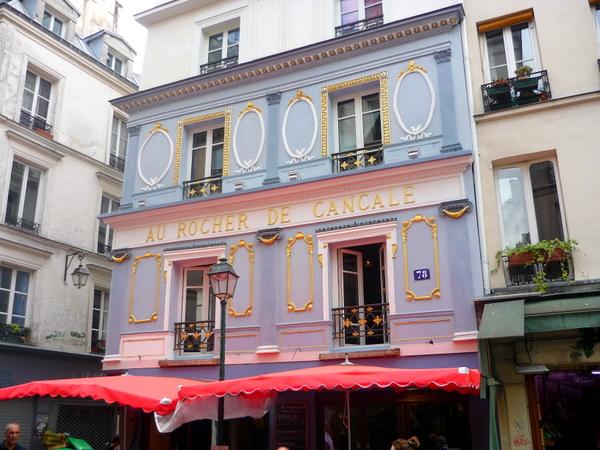 Au Rocher de Cancale Rue Montorgueil © French Moments