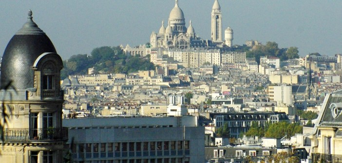 Sacré-Coeur from Buttes Chaumont © French Moments