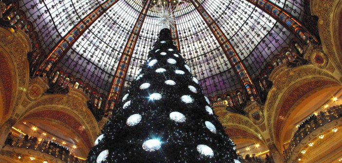 Paris Galeries Lafayette Christmas Tree  9 © French Moments