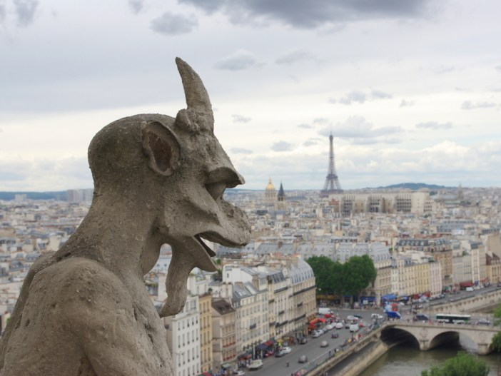 Chimera of Notre-Dame © French Moments