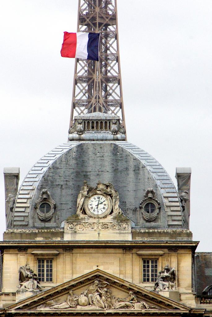 Ecole Militaire Eiffel Tower Paris © French Moments