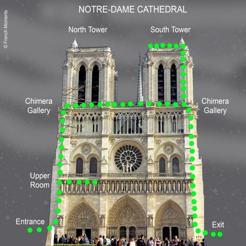 Notre-Dame de Paris Western Façade © French Moments