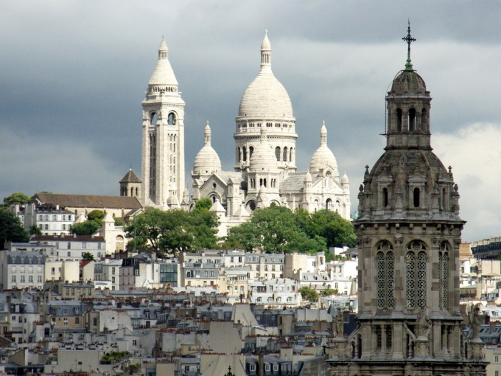 Sacré-Coeur from Printemps © French Moments