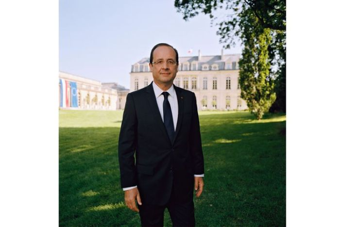 François Hollande Photo Raymond Depardon