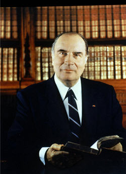 François Mitterrand © La Documentation française. Photo Gisèle Freund.