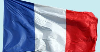 French Flag Floating © French Moments