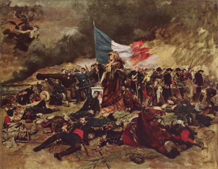 Siege of Paris by Ernest Meissonier 1884