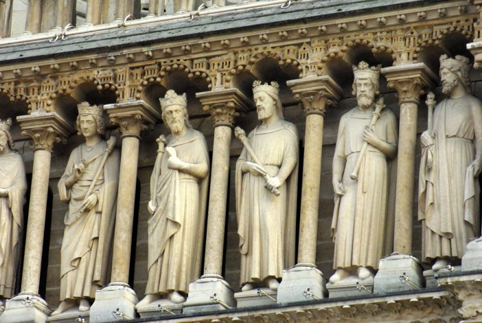 The Gallery of Kings, Notre-Dame © French Moments
