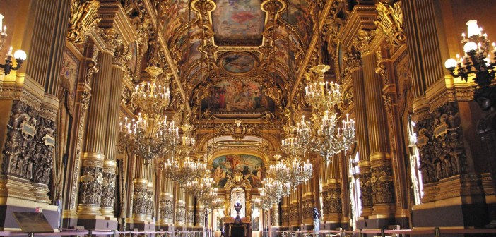 Grand Foyer, Palais Garnier © French Moments