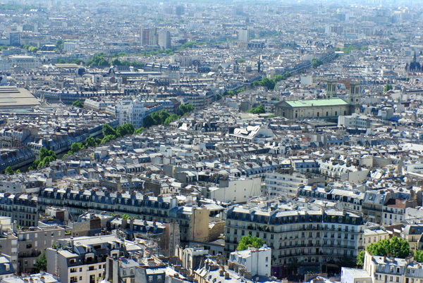 Paris View from Montmartre 63 copyright French Moments