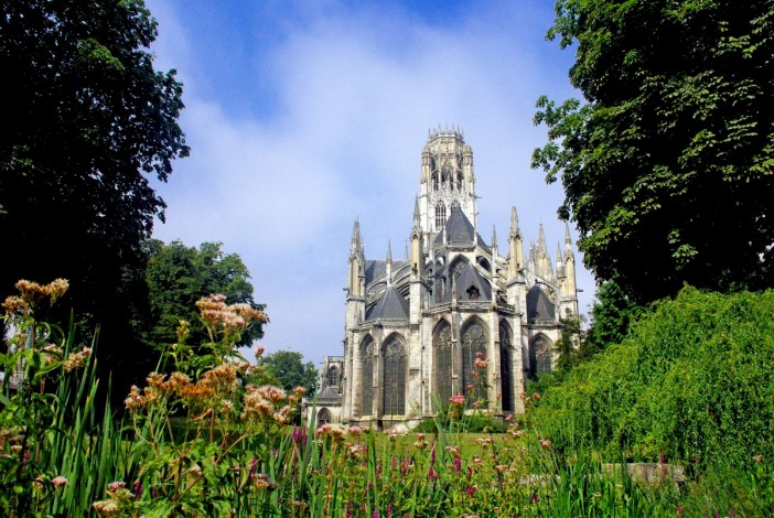 Chevet of Saint Ouen Abbey Church, Rouen © French Moments