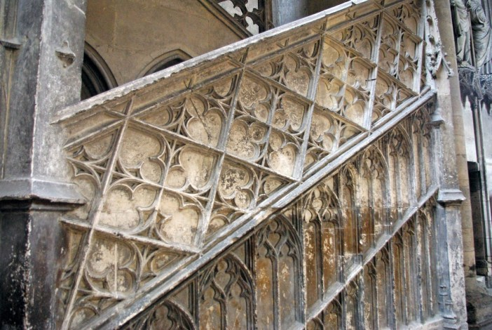 Detail of Escalier des Libraires © French Moments